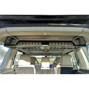 Rear Upper Loadspace Storage Shelf for Land Rover Discovery 3 4 7 Seat Bearmach