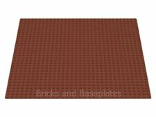 "LEGO BROWN BASEPLATE (Base Plate Board) 32x32 Pin 10 "" x 10 "" - BRAND NEW"