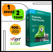 Kaspersky Total Security Antivirus 2020 - 1 Device PC 2 YEAR - GLOBAL KEY