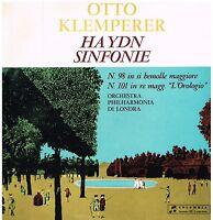 Haydn : Symphonies No 98,101 / Otto Klemperer,Philarmonia Orchestra - LP