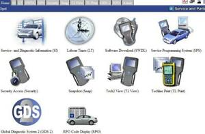 Vauxhall Opel GM & Saab GlobalTIS Security Access SPS For Use With Tech 2