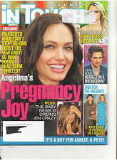IN TOUCH JOLIE PATTINSOM ERIC DANE RICHIE MADONNA JUDD AIDS 90210 ANISTON 2008