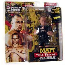Matt Serra UFC Action Figure Variant NIB Round 5 NIP MMA Series 4 Fighting