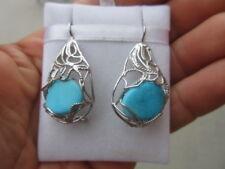 orecchini argento 925 turchese stile borbonico