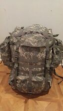 ARMY ACU DIGITAL MOLLE II LARGE RUCK SACK FIELD PACK W/ FRAME & POUCHES - faded