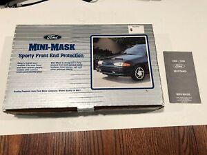 Genuine FORD OEM Mini Mask Hood Protector - Fits 87-93 Mustang LX GT Cobra