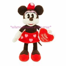 "Disney Parks Minnie Mouse Valentine vintage-style  - Small 11"" (NEW)"