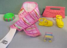 LIV N BRITE Bright FASHION PACK DOLL CLOTHES OUTFITS Yellow Sandal Shoes/Scarf