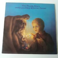Moody Blues - Every Good Boy Deserves Favour Vinyl Album LP UK 1st Textured
