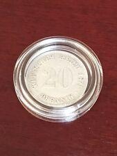 E1 - 20 Pfennig 1874 A-UNZ-Conservation-belle pièce-JG 5