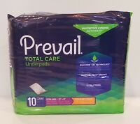 """Prevail Total Care Underpad HEAVY Absorbency 30 X 30"""" 10 pads"""