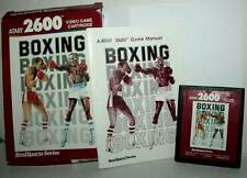 REALSPORTS BOXING GIOCO USATO BUONO ATARI VCS 2600 EDIZIONE AMERICANA FR1 42849