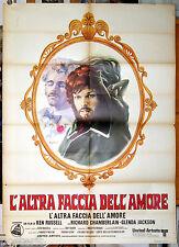 manifesto 2F film THE MUSIC LOVERS Ken Russell R.Chamberlain Glenda Jackson 1971
