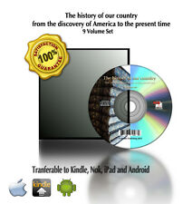 The history of our country from the discovery of America 9 Vol Set Book On CD