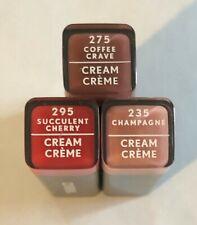 (3) Covergirl Colorlicious Cream Lipstick, 295, 275, And 235
