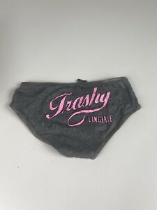Trashy Lingerie Grey Briefs Knickers S