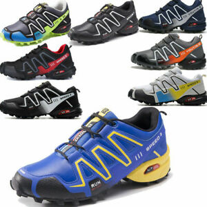 HOT Men's Hiking Speed Cross 3 CS running shoes outdoor off-road Athletic Shoes