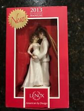 Lenox new in the box 2013 bride and groom ornament