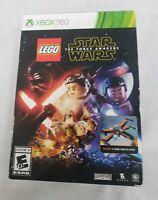 LEGO Star Wars: The Force Awakens (Microsoft Xbox 360, 2016) Special Edition Box