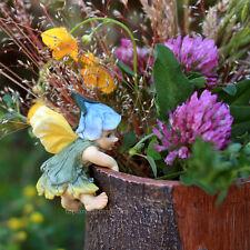 Fairy Baby Flower Pot Hugger  Hanger TO 4282 Miniature Garden