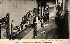 CPA Paris 13e Paris-Les Gobelins-Atelier de haute-lisse, dit du Nord (311321)