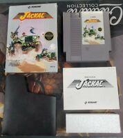 Jackal Nintendo NES Authentic Complete CIB -- S2G --