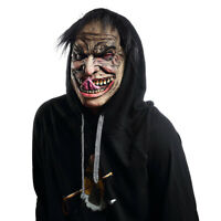 Creepy Scary Halloween Cosplay Costume Mask for Adults Miserable Male Masks DM