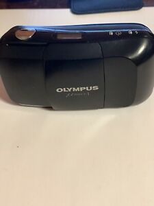 OLYMPUS μ [mju:]-I 1 CAMERA 35mm Ultra Compact Point & Shoot Film -l