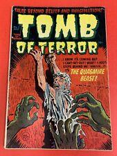 TOMB OF TERROR # 2  (1952)  HARVEY COMICS  -  VINTAGE  PRE-CODE COMIC BOOK