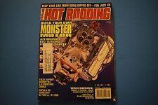 Popular Hot Rodding Magazine August 1994 Issue