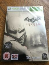 Batman Arkham City Ltd Ed Steelbook Joker Edition-Xbox 360 UK Sealed!