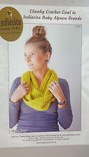 Indiecita Crochet Pattern #2522 Chunky Cowl to Crochet in Alpaca Grande