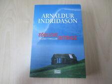 Arnaldur Indridason - TÖDLICHE INTRIGE - Island Thriller - TB - Bastei - (19847)