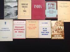 VINTAGE INDIA POLITICS COMMUNISM GOVERNMENT BOOKS BOOKLETS