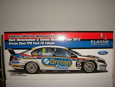 #5 MARK WINTERBOTTOM & STEVEN RICHARDS 50TH YEAR RETROSPECTIVE LIVERY 2012