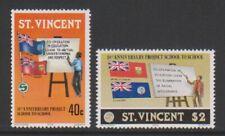 St Vincent - 1978, Project School to School set - MNH - SG 564/5