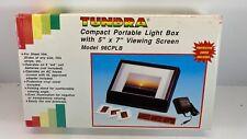 Tundra Compact Portable Light Box Model 96 Cplb New