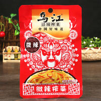 Wujiang Spicy Pickled Mustard Tuber (With Sugar and Sweetener) 80g*2bags
