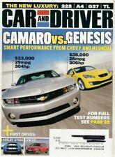 CAR & DRIVER 2009 JUNE - CAMARO vs GENESIS, Z4, GTI, TATA NANO, ARIEL ATOM 3