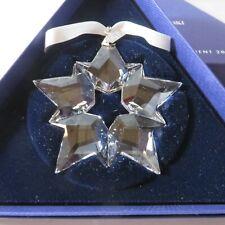 2019 Swarovski Crystal  Christmas Ornament Star Snowflake