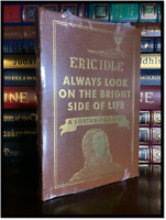 Always Look On The Bright Side Of Life SIGNED by ERIC IDLE New Leather 1/600