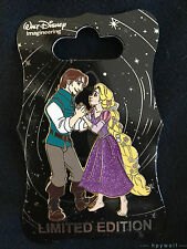 WDI Disney RAPUNZEL & FLYNN DANCING PRINCESSES Tangled LE 250 Pin