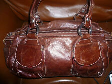 Russell & Bromley Zipper Totes with Outer Pockets