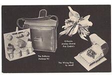 DUBARRY Cedric's Joseff Tom Breneman's ABC 1945 Kellogg Advertising Postcard Vtg