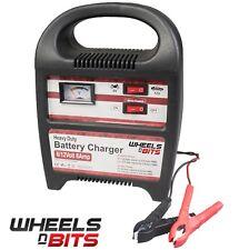 Wnb ® 8AMP 6 Vto 12 V Cargador de batería de vehículo de servicio pesado coche furgoneta Compacto Portátil
