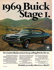 1969 BUICK GS 400 STAGE I ~ ORIGINAL MUSCLE CAR AD