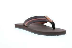 Tommy Bahama Taheeti TB7S00067 Mens Brown Slip On Flip-Flops Sandals Shoes