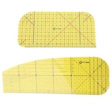 Sewing Ruler Hot Ironing Ruler Patch Tailor Craft DIY Sewing Supplies Measuring