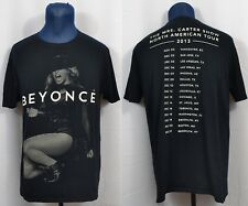 Beyonce Mrs. Carter 2013 Tour Dates T-Shirt North American Beyhive Concert Show