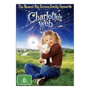 Charlotte's Web DVD Brand New Sealed  Region 4 Aust. - Free Post